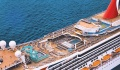 Carnival Freedom view of the ship