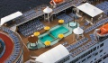 Carnival Inspiration pool deck