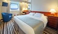 Columbus oceanview stateroom double bed