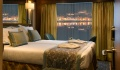 Douro Serenity Oceanview stateroom with lowerable panoramic window, middle and upper deck