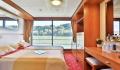 Elegant Lady 2-Bett Außenkabine Französischer Balkon Oberdeck