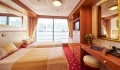 Elegant Lady Oceanview stateroom with French balcony