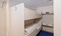 Lofoten inside stateroom bunk beds