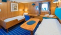Lofoten ocean view stateroom single beds