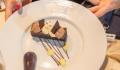 Meraviglia menu example desert