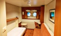 Midnatsol exterior stateroom