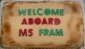 MS Fram Willkommen an Bord