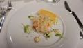 MSC Grandiosa Restaurant appetizer