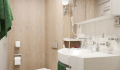 Mustai Karim deluxe stateroom bathroom