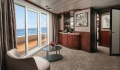 Norwegian Sky suite living room