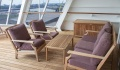 Queen Mary 2 Duplex Suite Veranda