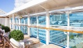 Royal Princess adults only pool sun beds
