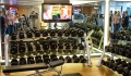 Royal Princess gym workout area
