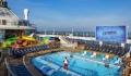 Spectrum of the Seas pool deck