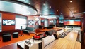 Sports bar with bowling