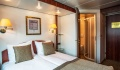 Swiss Ruby double bed cabin