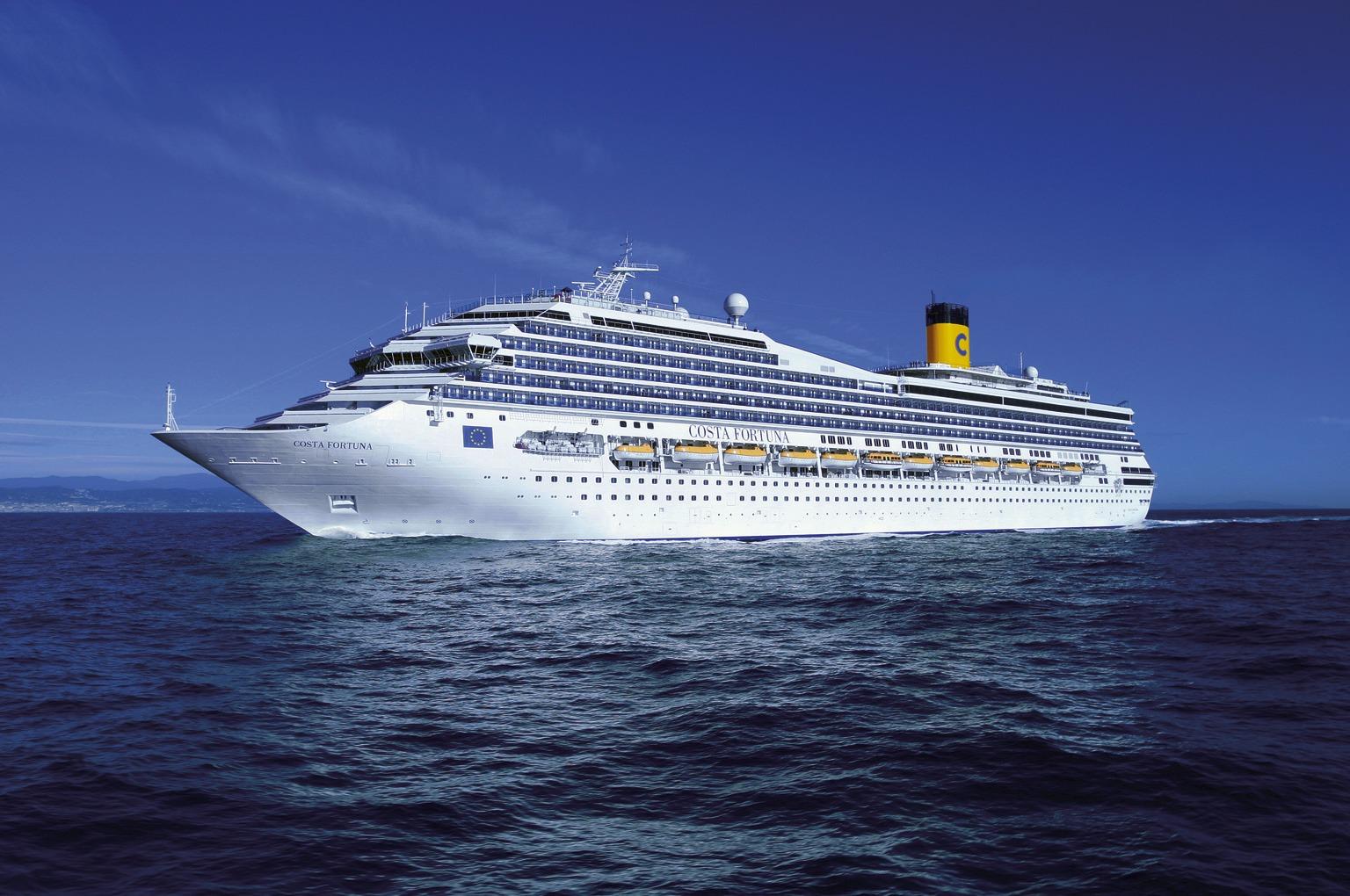 Costa Fortuna Cruise Ship Reviews Itineraries