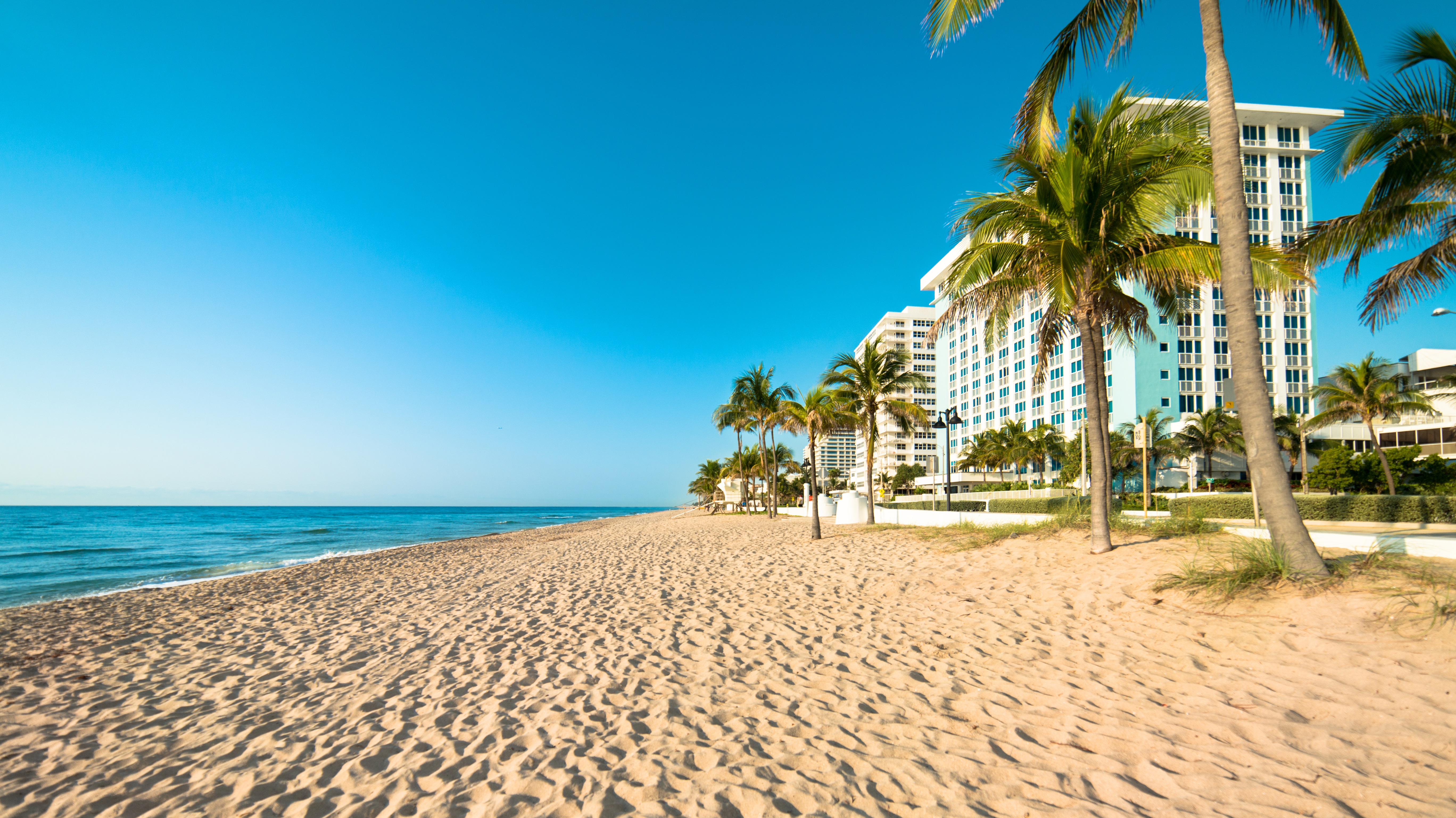 Fort Lauderdale Strand in Florida
