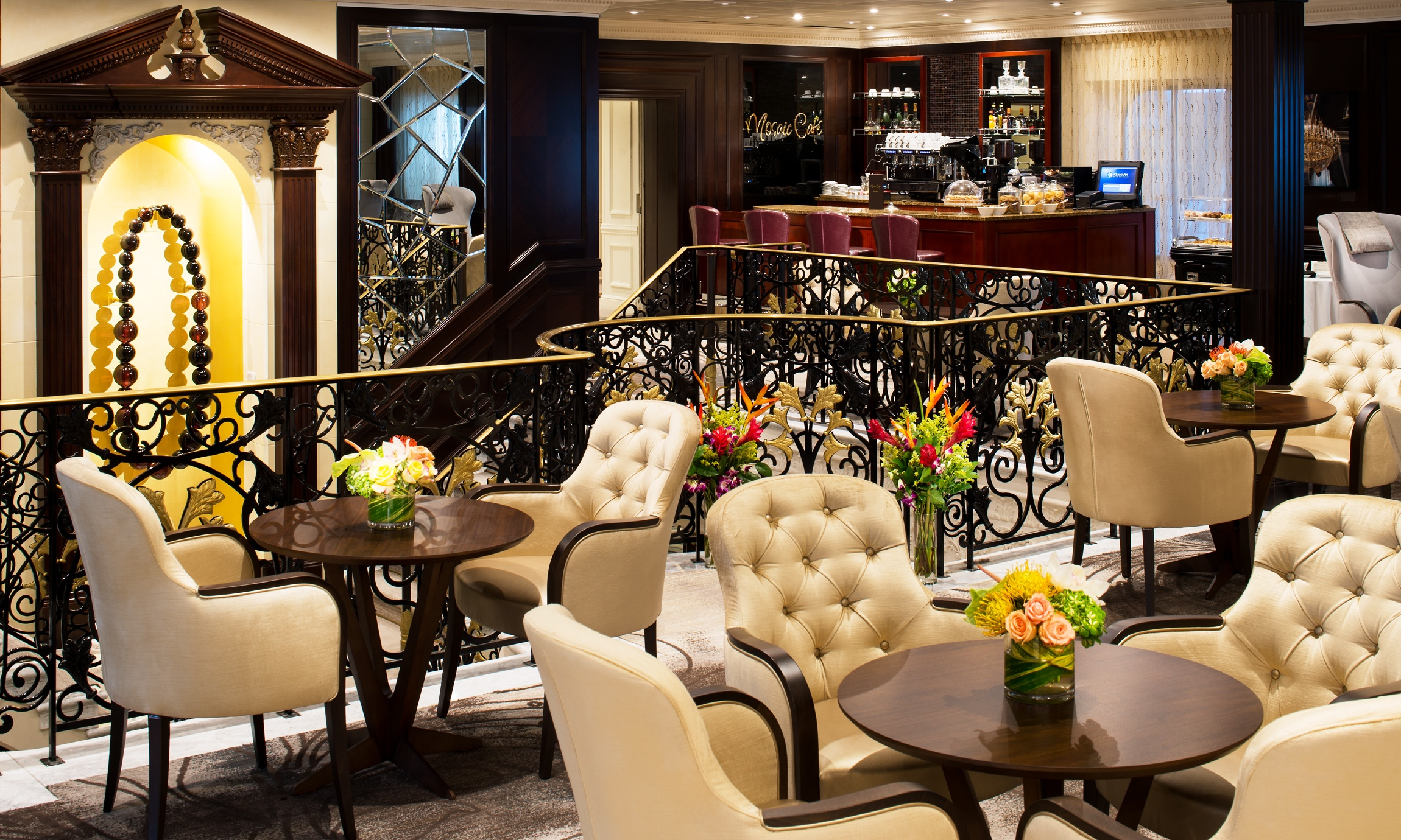 Image result for mosaic cafe azamara quest