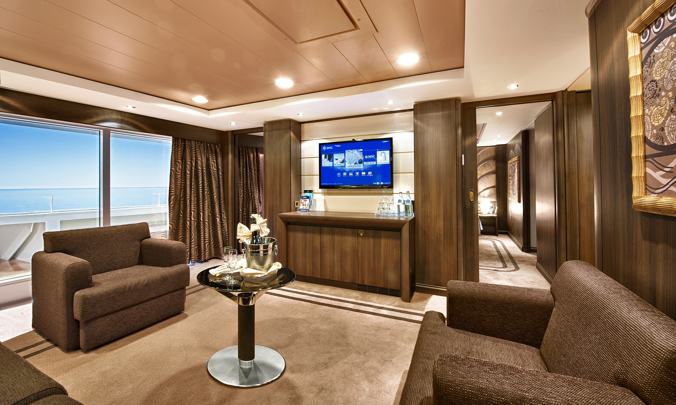 Royal Suite Appr 52 Square Metres With A Private Balcony