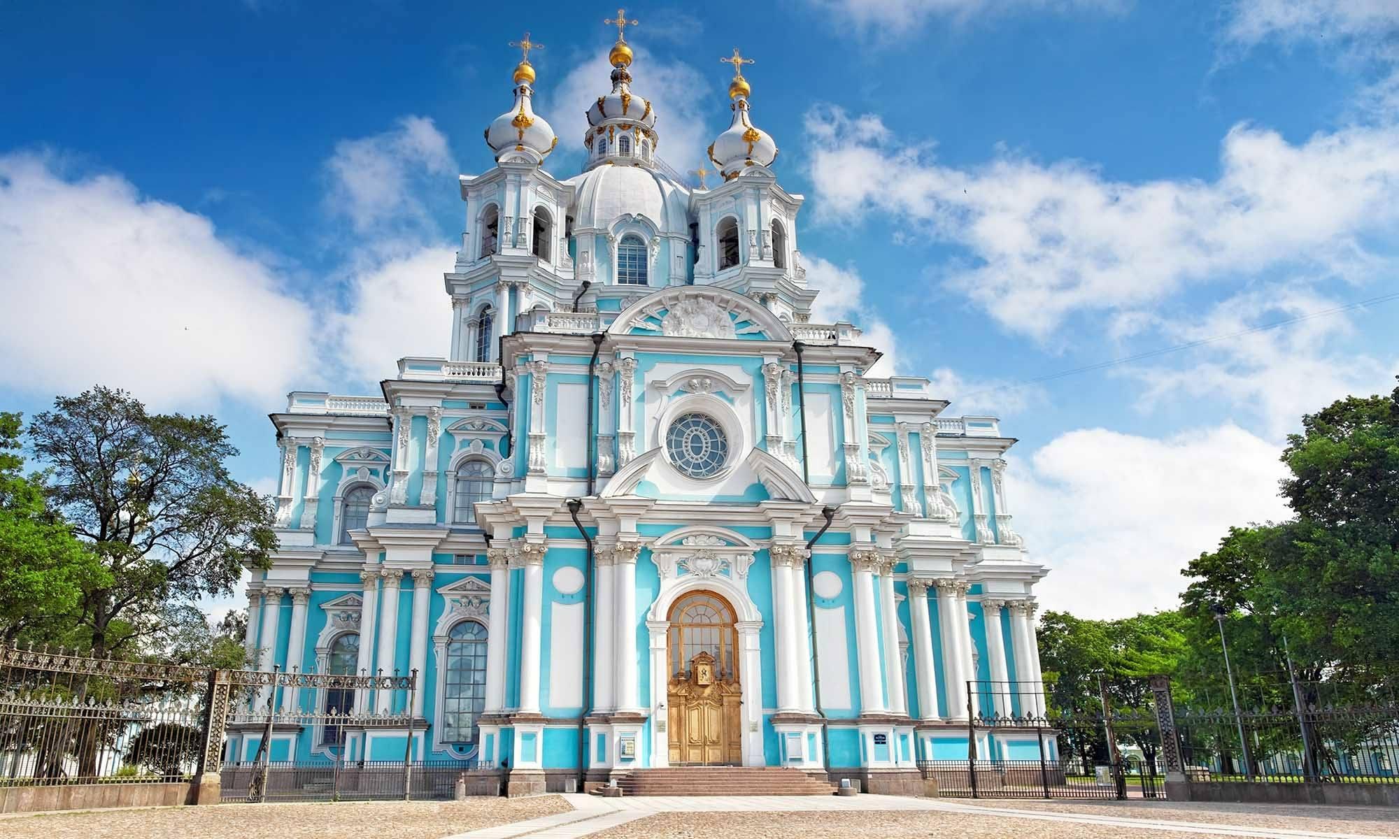 Smolny Kathedrale St. Petersburg