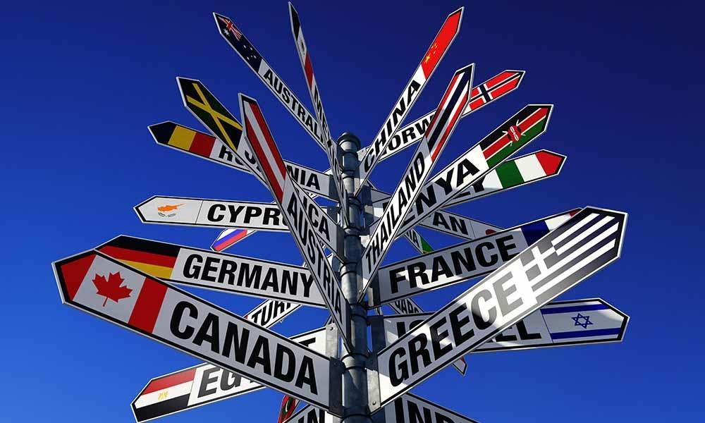 Schilder Weltreise