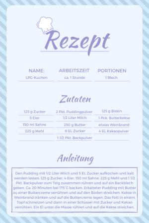 Deutsche Wiedervereinigung Kuchen Rezept Aus Der Ddr