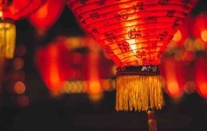 chinesisches madchen, in roten dessous