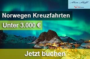 Norwegen Kreuzfahrten mit Mein Schiff/TUI Cruises