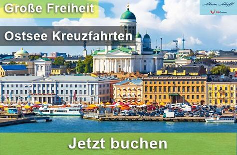 Ostsee Kreuzfahrten – Große Freiheit