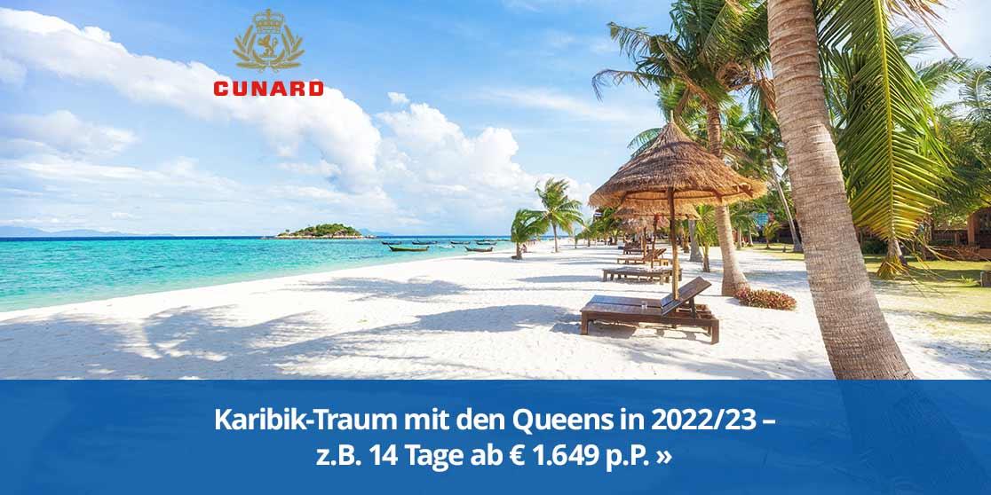 KW 37 Cunard Karibik 2022/23