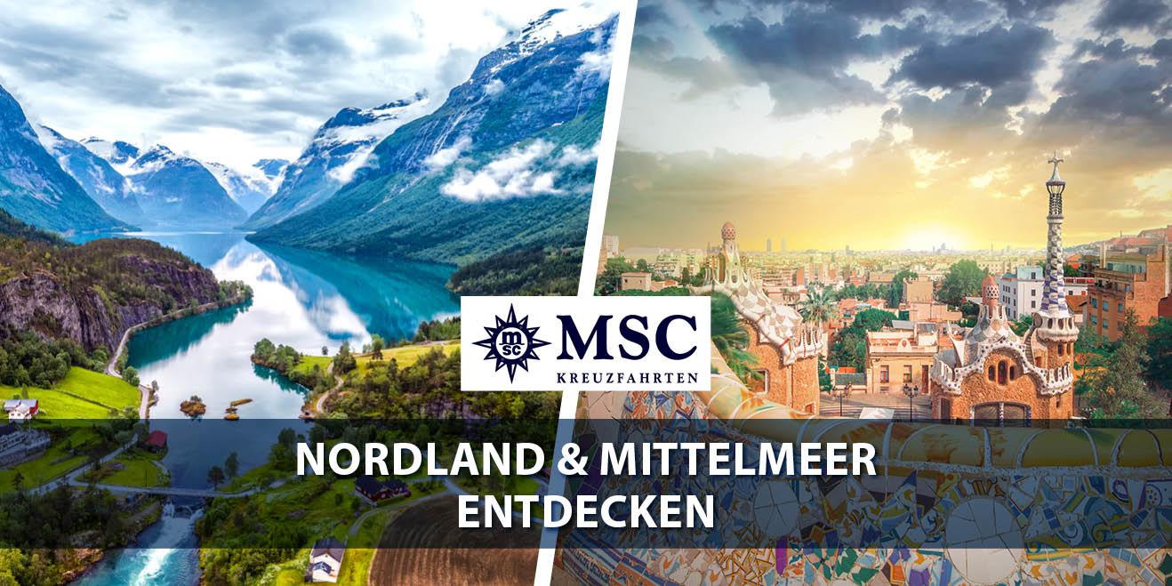MSC Nordland & Mittelmeer