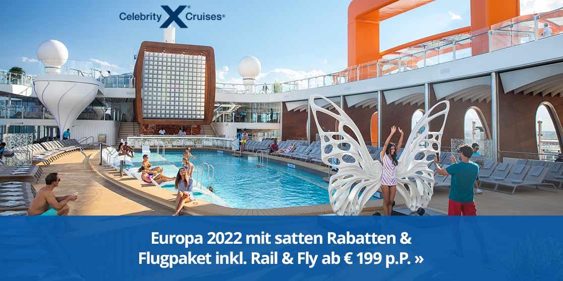 KW 38 CEL Flugpaket+Rabatt Special 456 Europa 2022