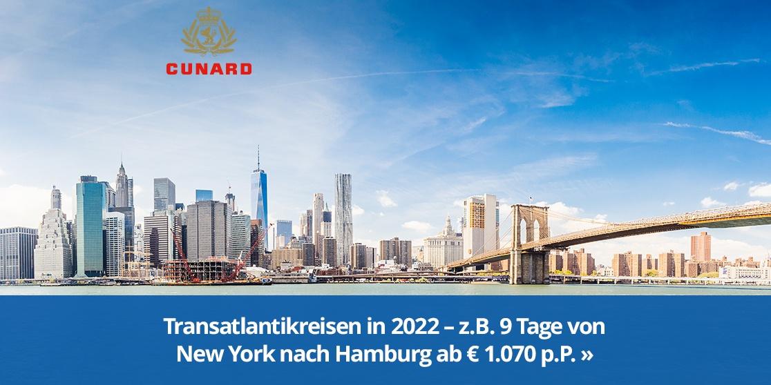 KW 41 Cunard Transatlantikreisen 2022