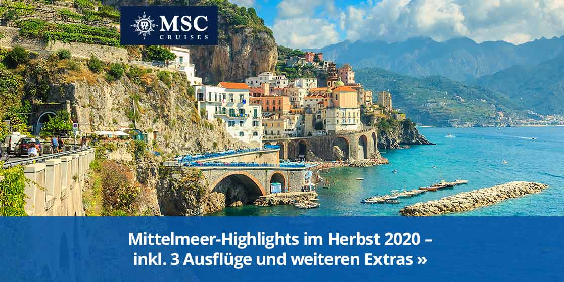 KW 39 MSC Special 731 Mittelmeer Herbst 2020
