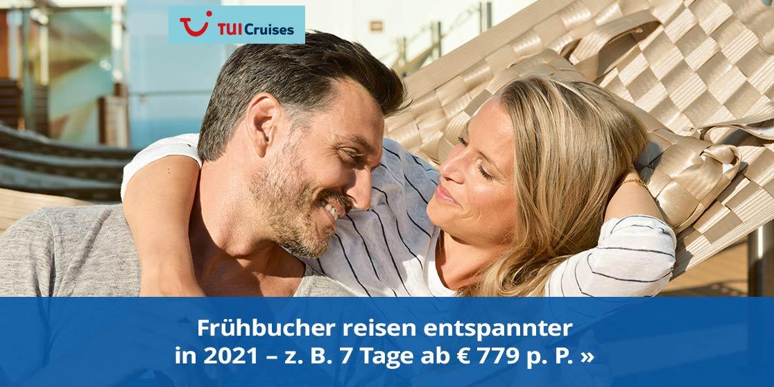 TUI Reisen Frühblüher ab 2021