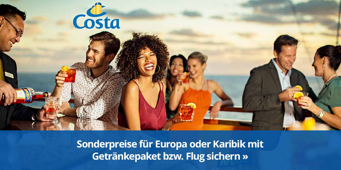 KW 15 Costa Getränke bzw. Flug inkl. Special 914