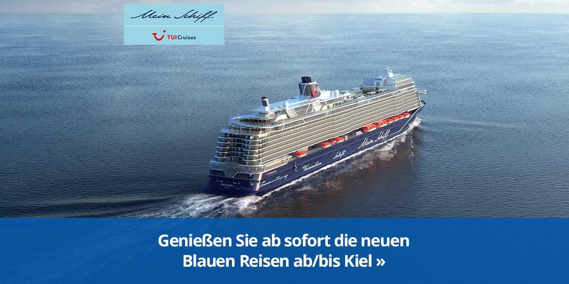 KW 19 TUI Neue Blaue Reisen ab/bis Kiel