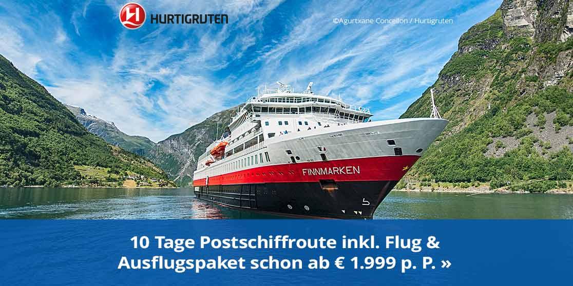 KW13 Hurtigruten Prämien-Sommer