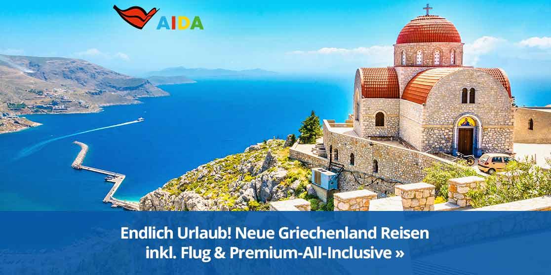 KW 18 AIDA Pauschal+AllInc Griechenland 2021